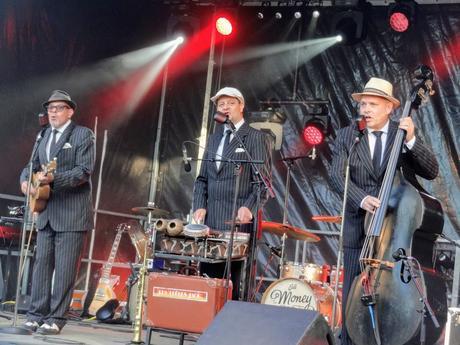 Les Frères Jack et The Money Makers à La Fête de la Musique 2019 à Saint- Quay- Portrieux au parc de la Duchesse Anne, le 21 juin 2019