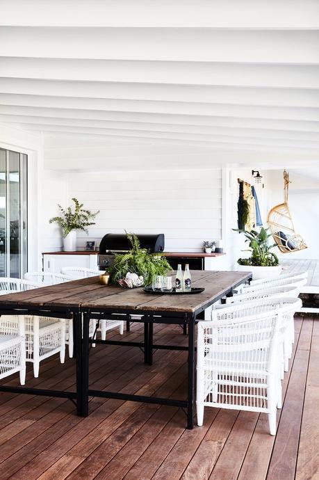 blog déco transformation ferme terrasse extérieure bois