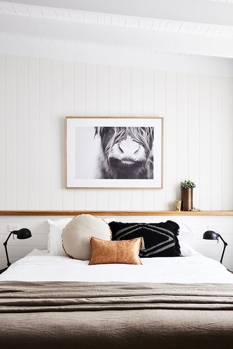 clemaroundthecorner suite mur bois blanc coussin cuir esprit vacances été