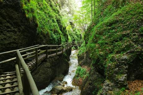 styrie bärenschützklamm gorges randonnée