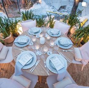 Une soirée féérique à Dinner with a View