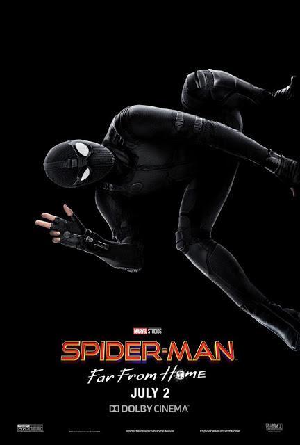 Nouvelle affiche US pour Spider-Man : Far From Home de Jon Watts