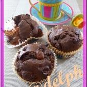 Muffins au chocolat. - Oh, la gourmande..