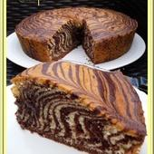 Zébra cake - Oh, la gourmande..