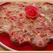 Cookie géant aux pralines roses et amandes - Oh, la gourmande..
