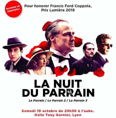 Festival LUMIERE 2019 à Lyon - Une Nuit du Parrain pour honorer Francis Ford Coppola