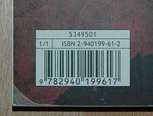 Comprendre le code ISBN d'un livre