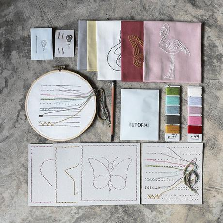 Kit DIY embroidery Numéro 74