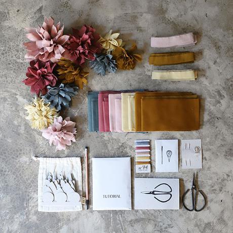 Kit DIY fleur Numéro 74