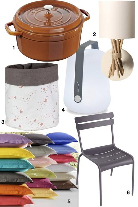 shopping liste soldes camif staub chaise fermob lampe coussin applique murale - blog déco - clemaroundthecorner