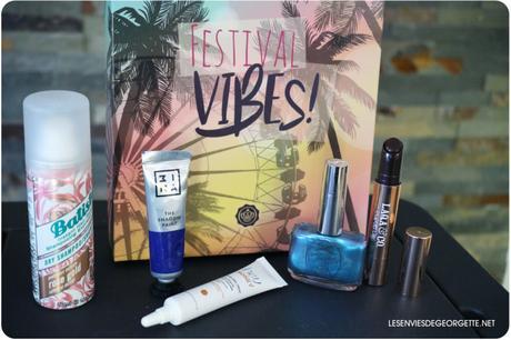 La Glossybox Festival Vibes de Juin 2019