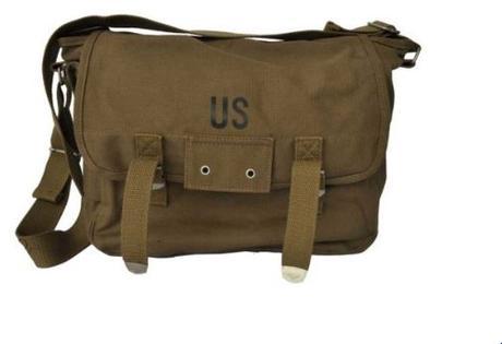 Sac US vintage : acheter un sac de cours genre US Army à votre ado
