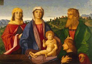 SVDS 1504 Vincenzo Catena_-_Madonna_and_Child_with_Saints_and_the_Donor_ Ermitage