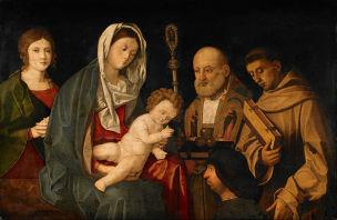 SVDS 1500-05 Vincenzo Catena_Virgin_and_Child_with_Saints_and_a_Donor_Walker Art Gallery Liverpool