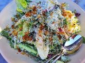 Recette salade poulet pissenlits, radis, oignons rouge verts, parmesan, coriandre fraîche