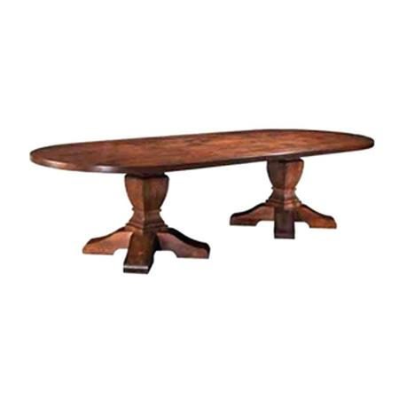 toscana coffee table oval