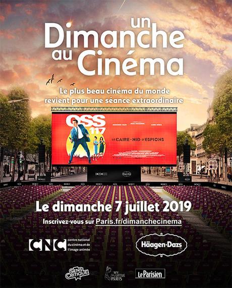 0SS 117 va être projeté en plein air sur les Champs-Élysées