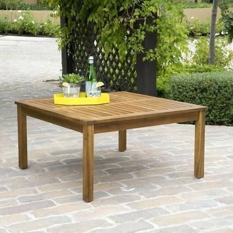 coffee table outdoor outdoor teak acacia wood coffee table