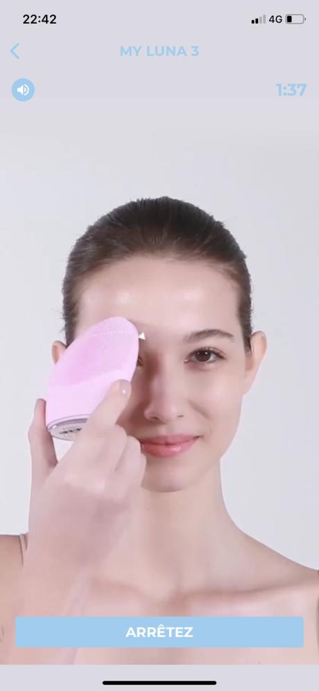 Luna 3 de FOREO, un nettoyage profond pour une peau nette et lumineuse