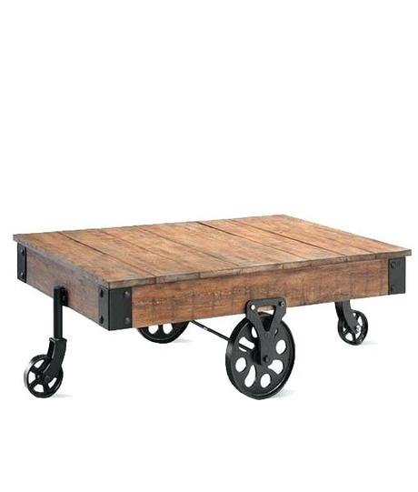 industrial coffee table cart iron cart industrial coffee table best of exports