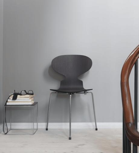 chaise fourmi d'Arne Jacobsen design danois iconique - blog déco - clem around the corner