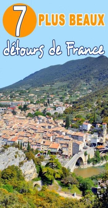7 plus beaux detours de France Pinterest © French Moments