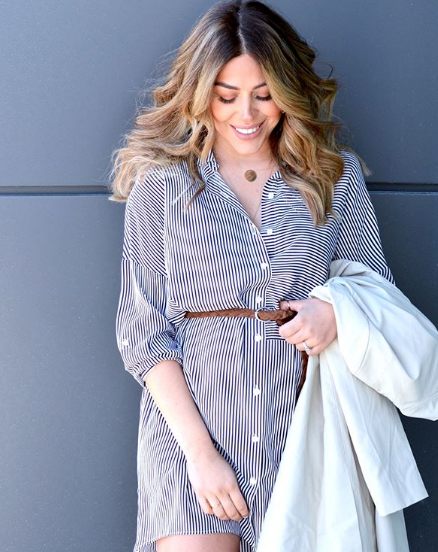 Les looks de grossesse à piquer aux blogueuses cet été