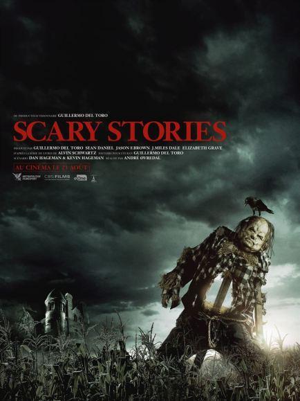 La nouvelle bande annonce de Scary Stories, le film produit par Guillermo Del Toro