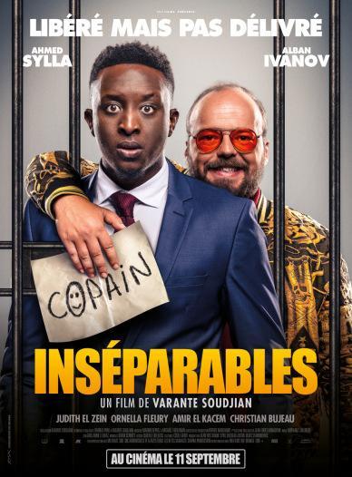 L'affiche de Inséparables, le film de Varante Soudjian