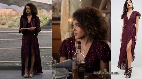 TRINKETS : Tabitha's maxi dress in ep4