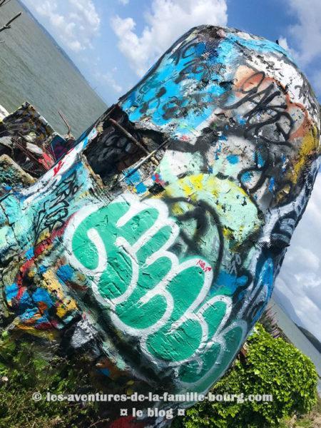 Albany Bulb, une décharge transformée en galerie d'art