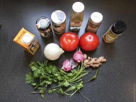 Petit pois indiens ? – Curry de vatana green peas