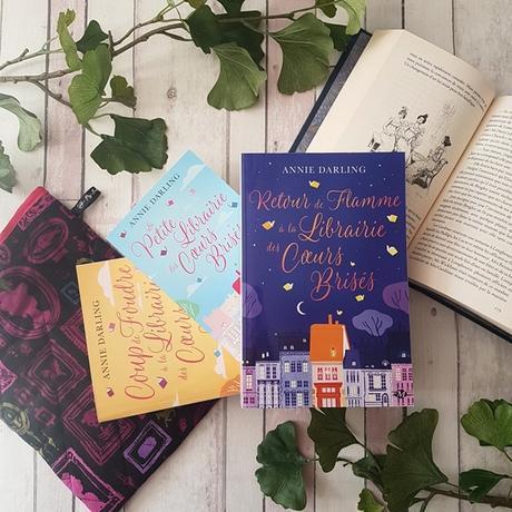 Retour de flamme à la librairie des coeurs brisés, tome 3 - Annie Darling