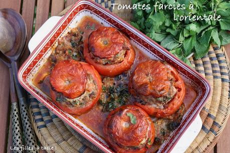 Tomates farcies à l'orientale