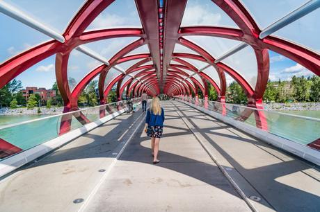 calgary - peace bridge