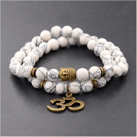 bracelet bouddha en pierre