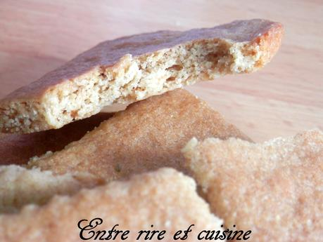 Biscuits Speculoos maison