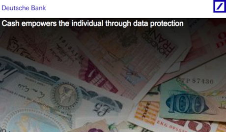 DB Research – Cash empowers the individual through data protection