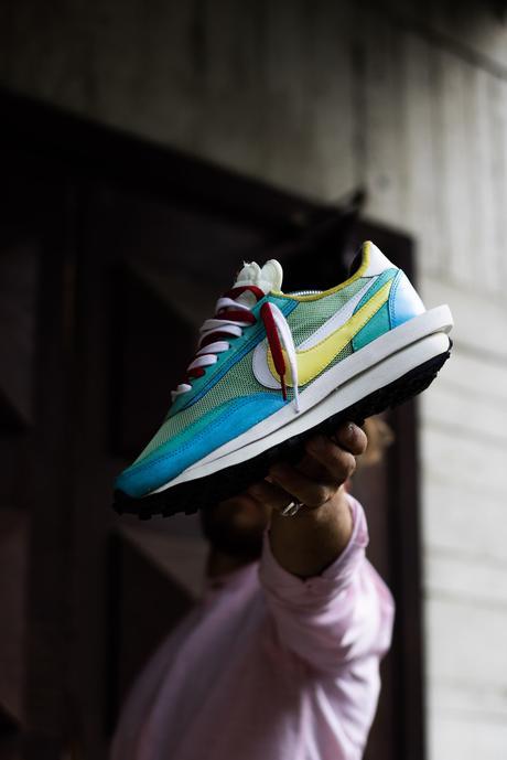 Les Sacai x Nike LDV Waffle sont réinventées avec ce custom