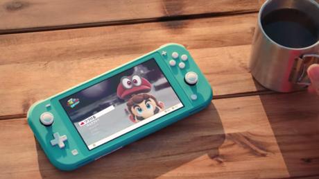 Nintendo officialise la Switch Lite, moins chère et 100% portable