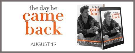 Cover Reveal : Découvrez la couverture et le résumé de The Day he Came back