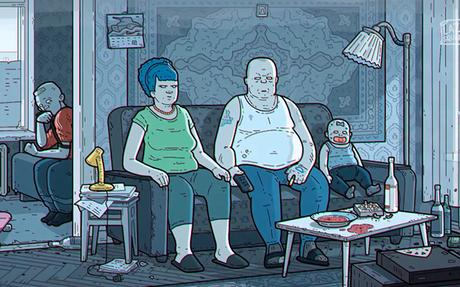 La version Russe du générique des Simpson