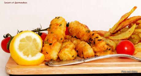 Fish Fingers and chips selon Gordon Ramsay.