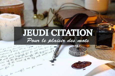 Jeudi Citation #27