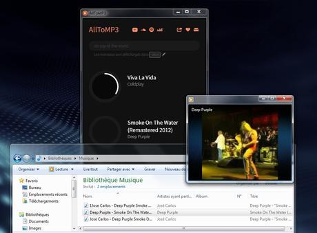 AllToMP3 - convertir YouTube, SoundCloud, Spotify en MP3