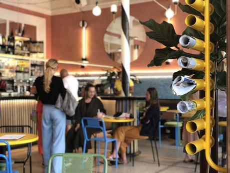 LIONEL JADOT : Café Flora