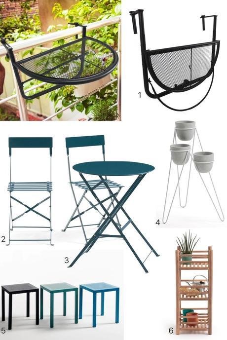 Soldes mobilier exterieur balcon haussmannien - blog décoration interieur - clemaroundthecorner