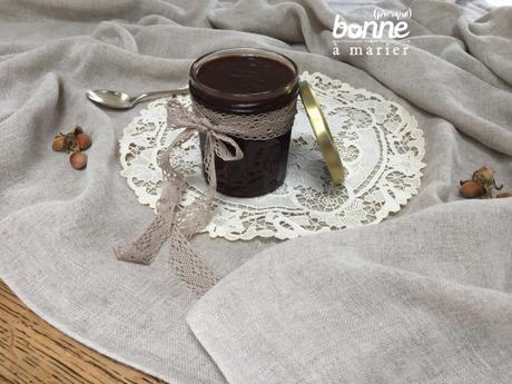 Pâte à tartiner noisette-chocolat de Clea