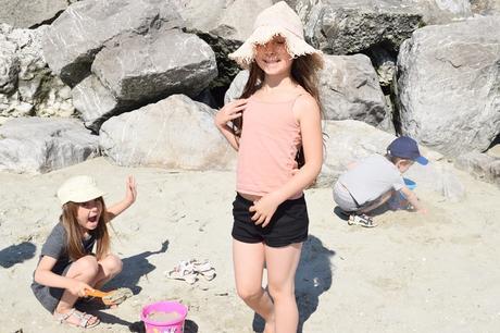 Notre semaine 28 : la plage, le soleil, les vacances
