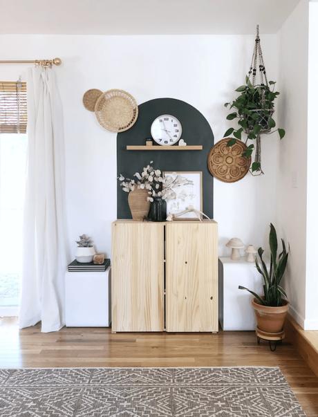meuble bois maison solarium tendance bohème chic - blog déco - clematc